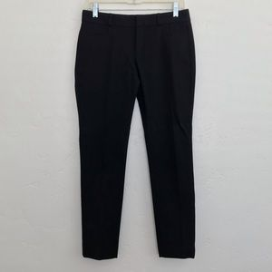 Banana Republic Black Skinny Leg Sloan Dress Pants